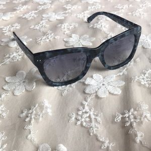 Banana Republic Rectangular Blue Sunglasses.Kool💕